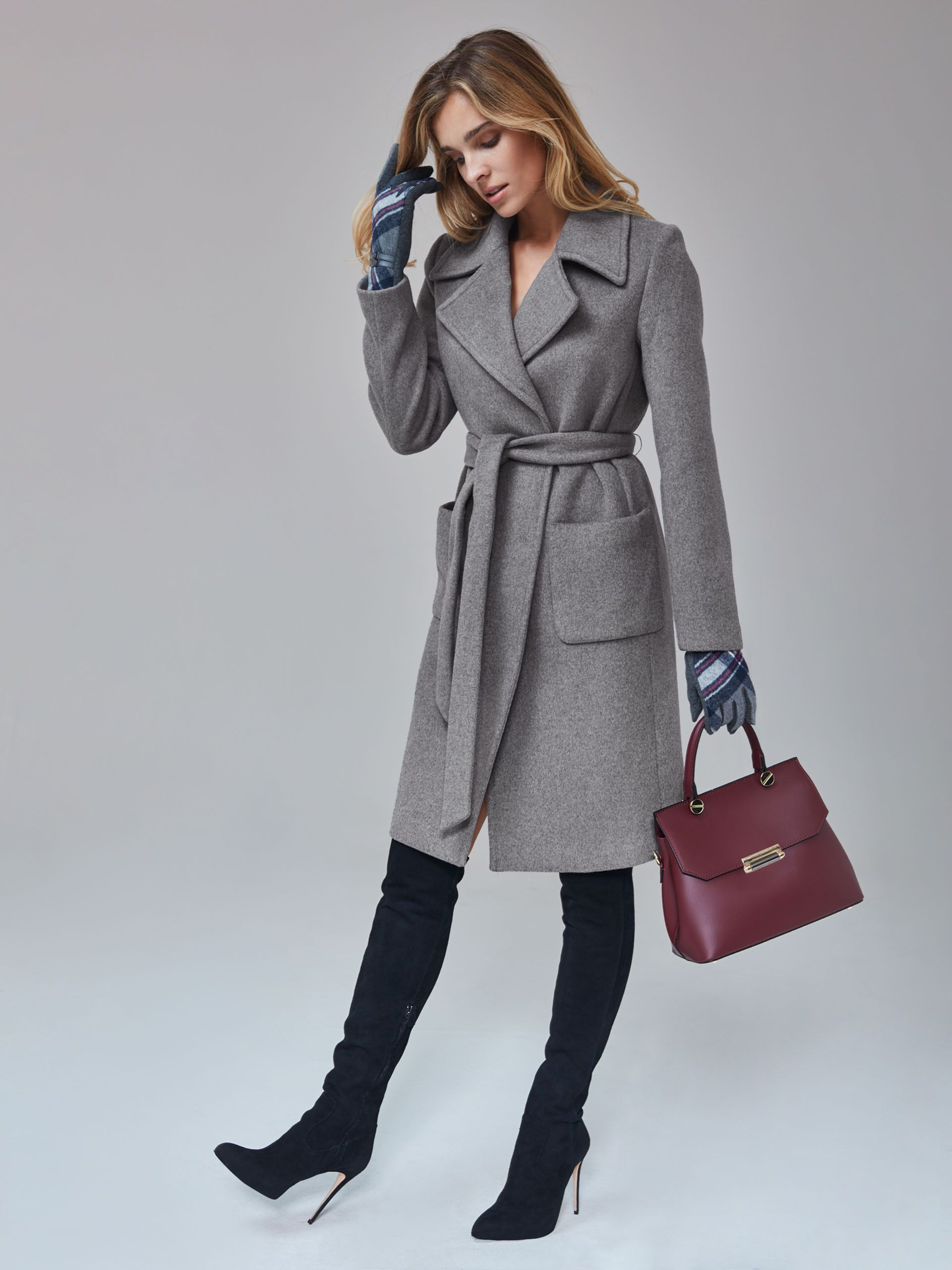 f67a2a38bc Taranko AW 2018 19 Autumn Aesthetic Grey Coat