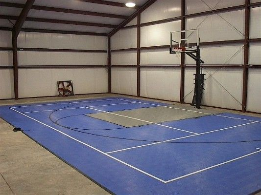 Drake barn gym johnston ia sport deck iv flooring for Indoor basketball court construction