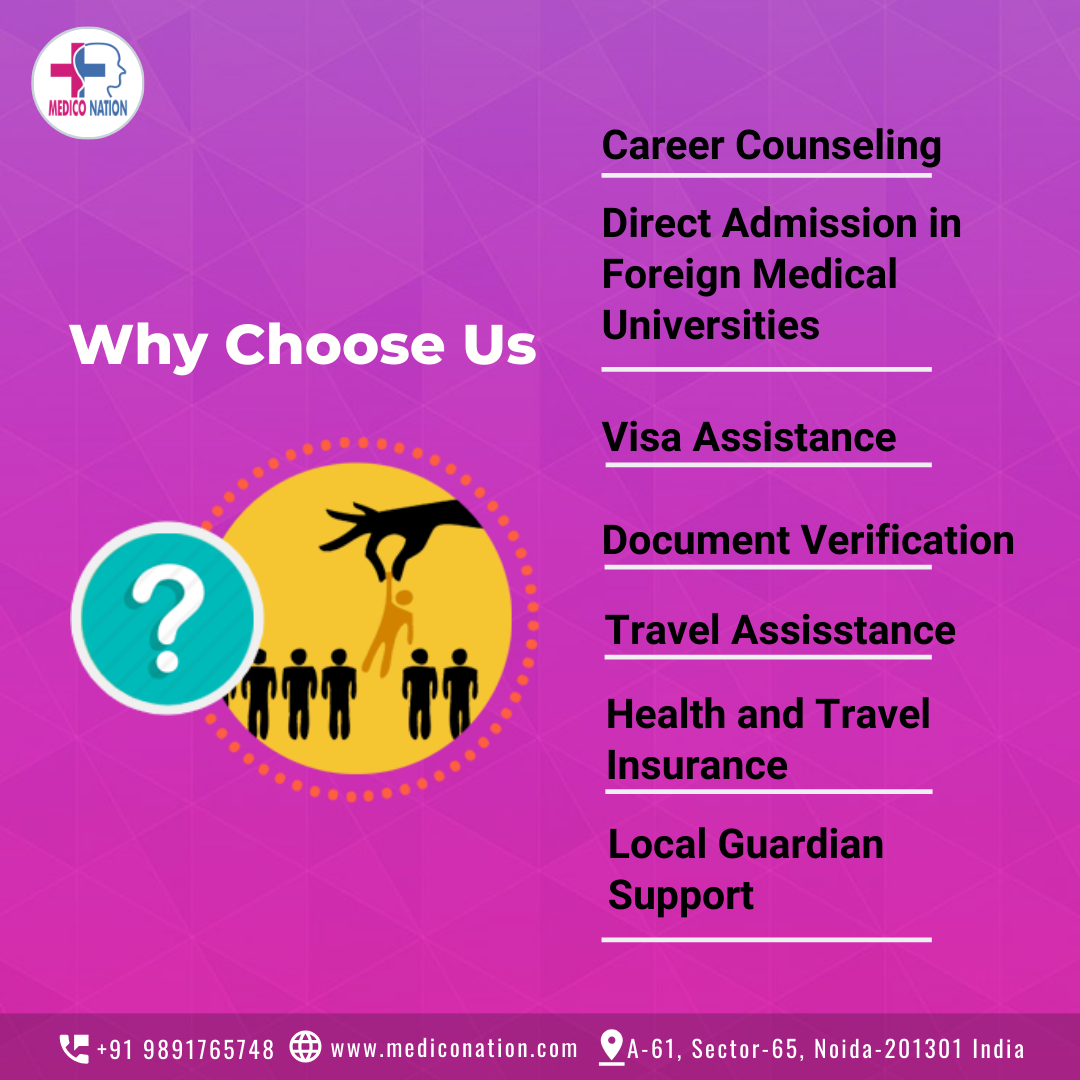 Mediconation is providing > Career Counselling, > Direct