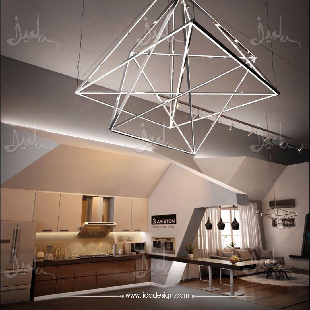 معرض مطابخ و أجهزة كهربائية في جدة من تنفيذ وتصميم شركة جيدا لأعمال الديكور والخدمات الهندسية المتكاملة للتواصل Interior Design Architect Design Interior