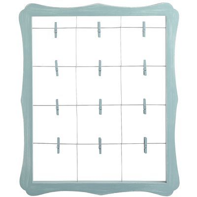 also another i want to make from pier 1 scalloped window clip frame blue - Window Clip Frame
