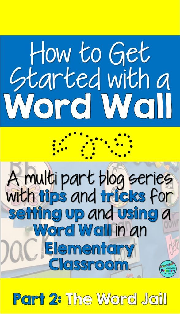 How to Set up a Word Wall that Your Students Will Use - Part 2 ...