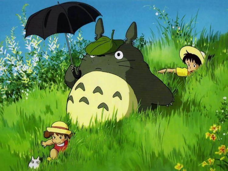 Mi vecino Totoro, de Hayao Miyazaki