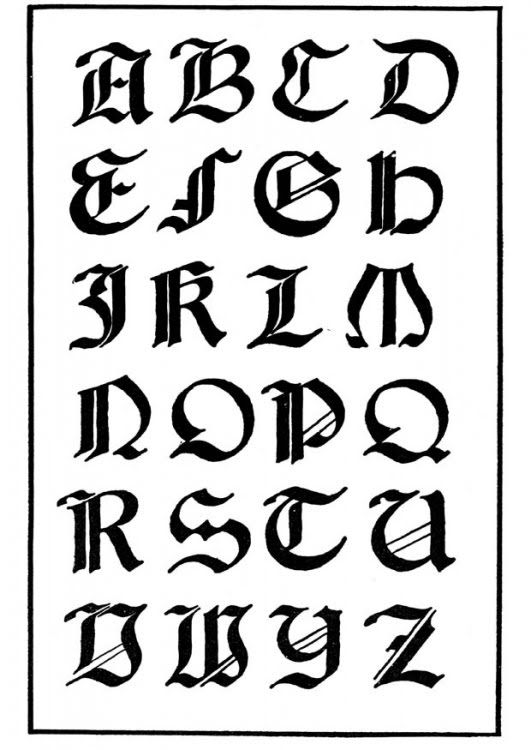 Disenos De Letras Para Tatuajes Abecedario Lettering Alphabet Calligraphy Alphabet Alphabet Images