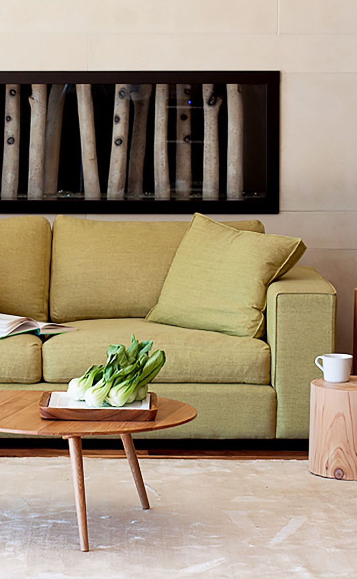 Seagrass Living Room Furniture Green Mid Century Modern Sofa Ceni Mid Century Modern Furniture