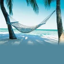 lay in hammock on the beach and relax