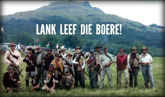 DIE BOEVOLK: Lank leef die Boere ~ Majuba in die agtergrond ~  (Face book)