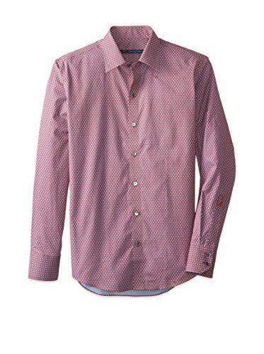 Zachary Prell Men's Hendricks Printed Sport Shirt