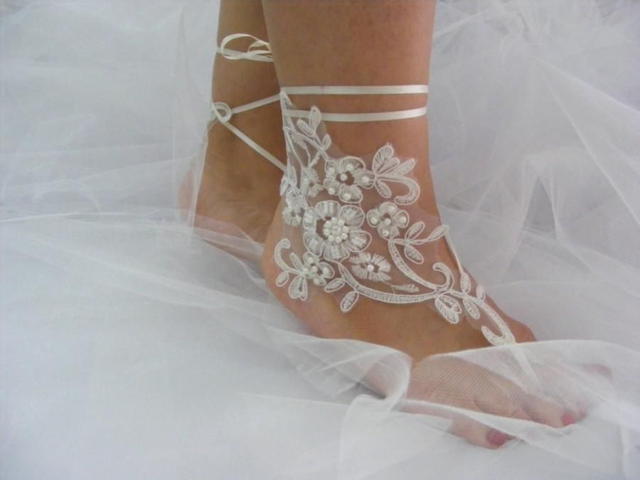 ce161153a814a 50+ Beach Wedding Barefoot Sandals Ideas | All About Weddings ...