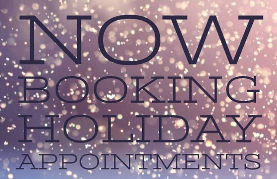 Quotes For Hair Spa: It's That Time Of Year Now Booking Holiday Hair
