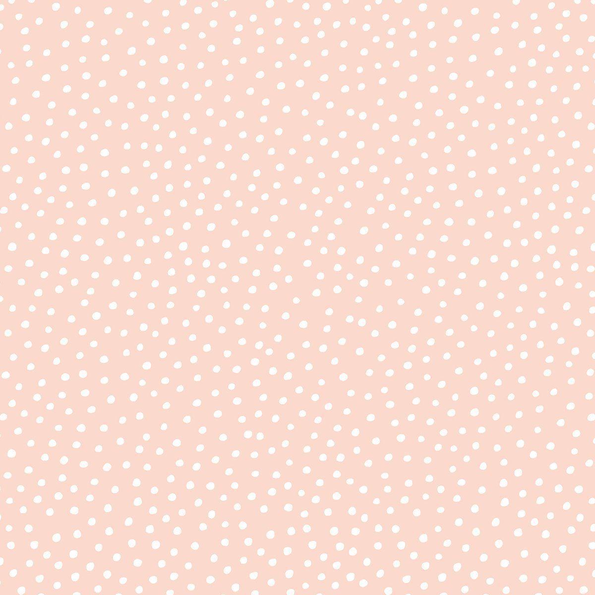 Pebble Pink Pink Pattern Background Cute Patterns Wallpaper Dots Wallpaper