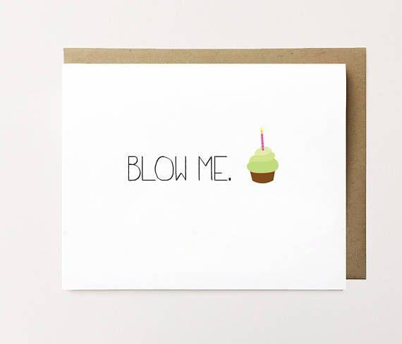 Funny Birthday Card Dirty For Boyfriend Cheeky