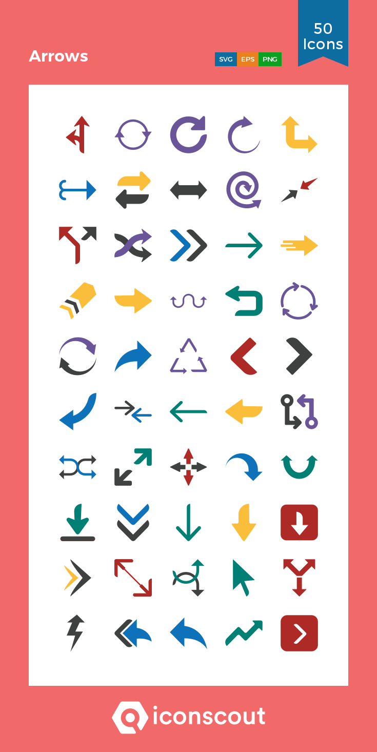 Download Arrows Icon pack Available in SVG, PNG, EPS, AI