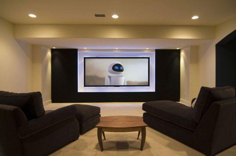 Basement Home Theater Design Ideas Basement Home Theater Interesting Basement Home Theater Design Ideas Property