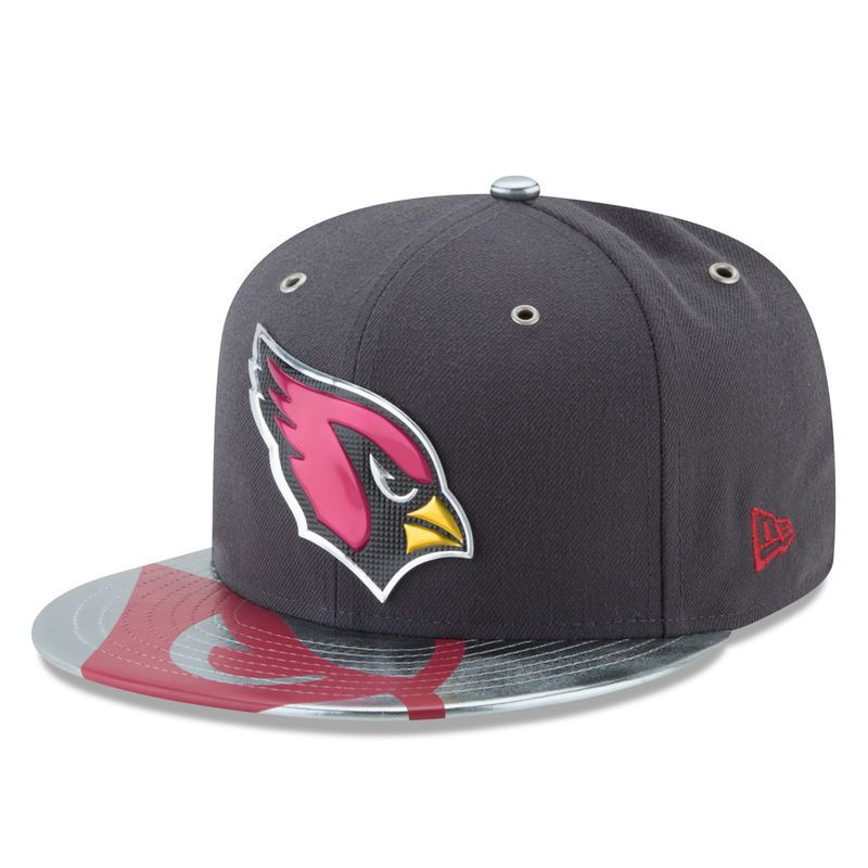 new arrival 361da 83024 ... order arizona cardinals new era 2017 nfl draft spotlight 59fifty fitted  hat graphite a9a4b 995f7