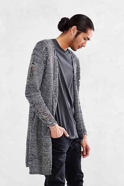 Kill City Drop- Stitch Long Cardigan | Wearables: Men | Pinterest ...