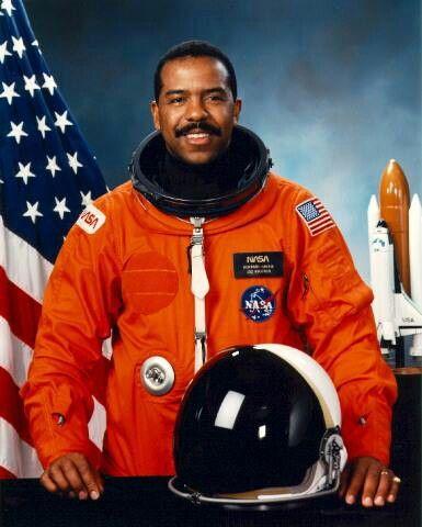 Bernard A. Harris Jr. The first black NASA astronaut to perform a spacewalk, 2/9/1995.