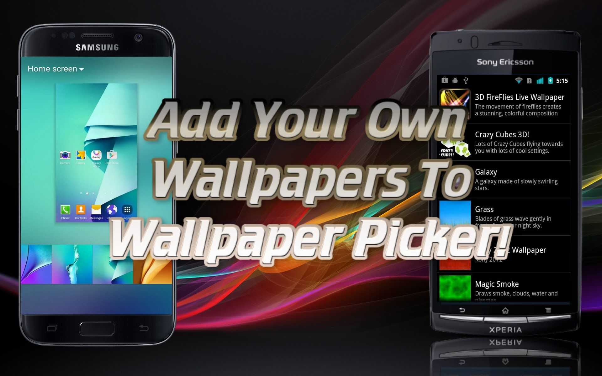 download android app ace live wallpaper picker for samsung