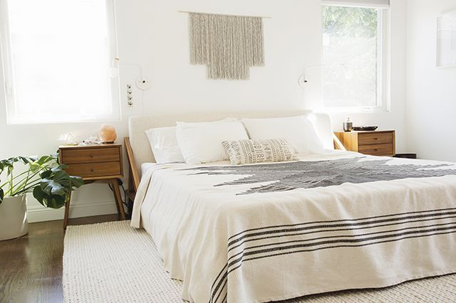 """so excited to finally share the master bedroom with you! it's definitely the first room that we've """"finished"""" (but can you ever really finish a room if you're a crazy person?).  i've mentioned that th"""