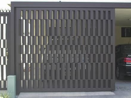 Portones de herreria modernos corredizos buscar con google casa pinterest puertas de - Puertas disenos modernos ...