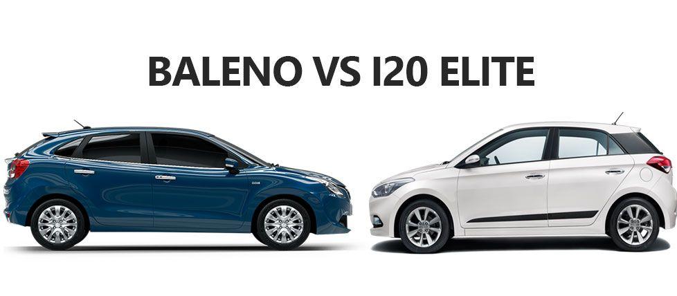 Maruti Suzuki Baleno Vs Hyundai Elite I20 Petrol Diesel Detailed Comparison Balenovselitei20 Hyundai Suzuki Petrol