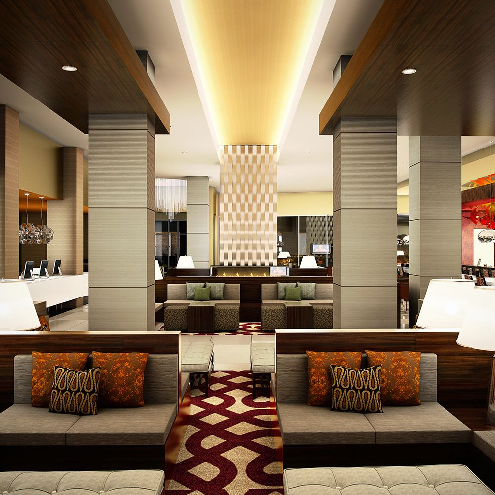 Hotel lobby - 6 Ways Hotel Lobbies Teach us About Interior Design