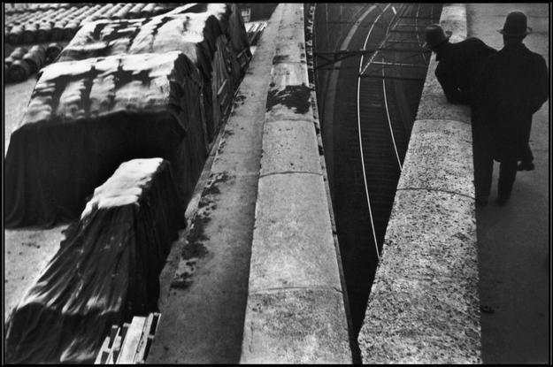 FRANCE. 1932. Paris. The Quai St Bernard, near the Gare d'Austerlitz train station by Henri Cartier Bresson