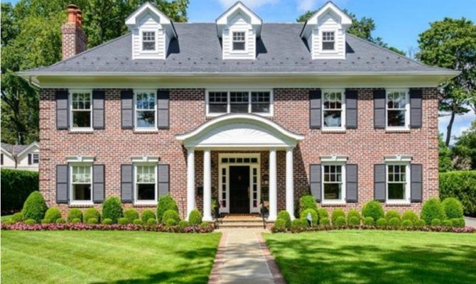 Wow House Georgian Colonial Garden City Patch House Plans