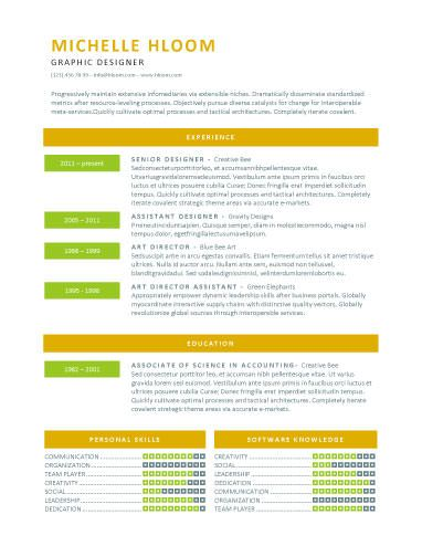 Lively Step CV Pinterest Template - resume templates google docs