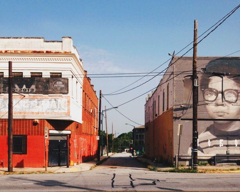 Castleberry Hill, Atlanta, GA …