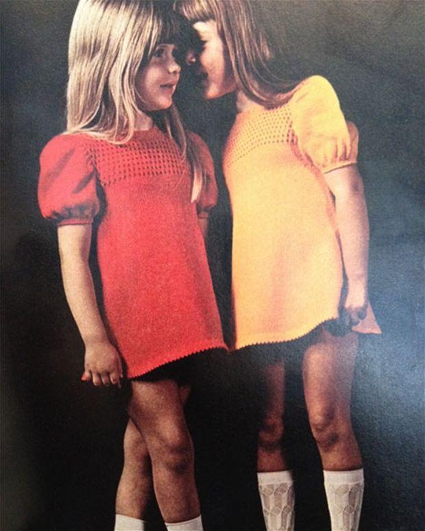 Photo of Nydelig retro: Jentekjole med hul mønster – Her World