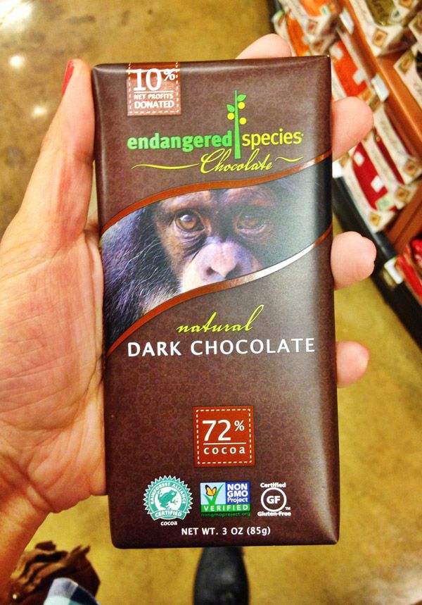 Endangered-Species-Chocolate. I get these all the time and finally know this type is vegan!