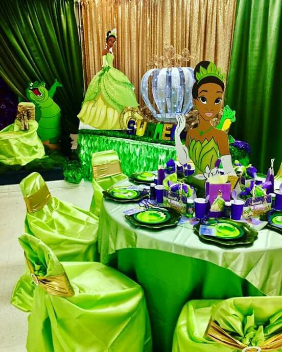 24 Princess The Frog Party Ideas Tiana Birthday