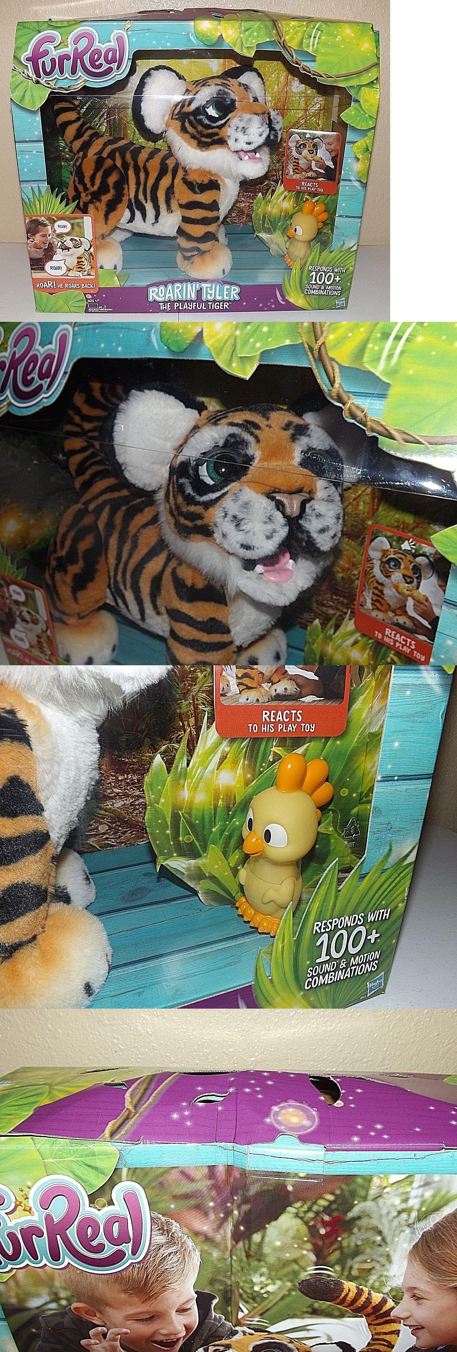 Furreal Friends 38288 Furreal Roarin Tyler The Playful Tiger Kids Toy Pet Fur Real Roaring Hasbro Buy It Now Only 6 Fur Real Friends Kids Toys Tiger Kids