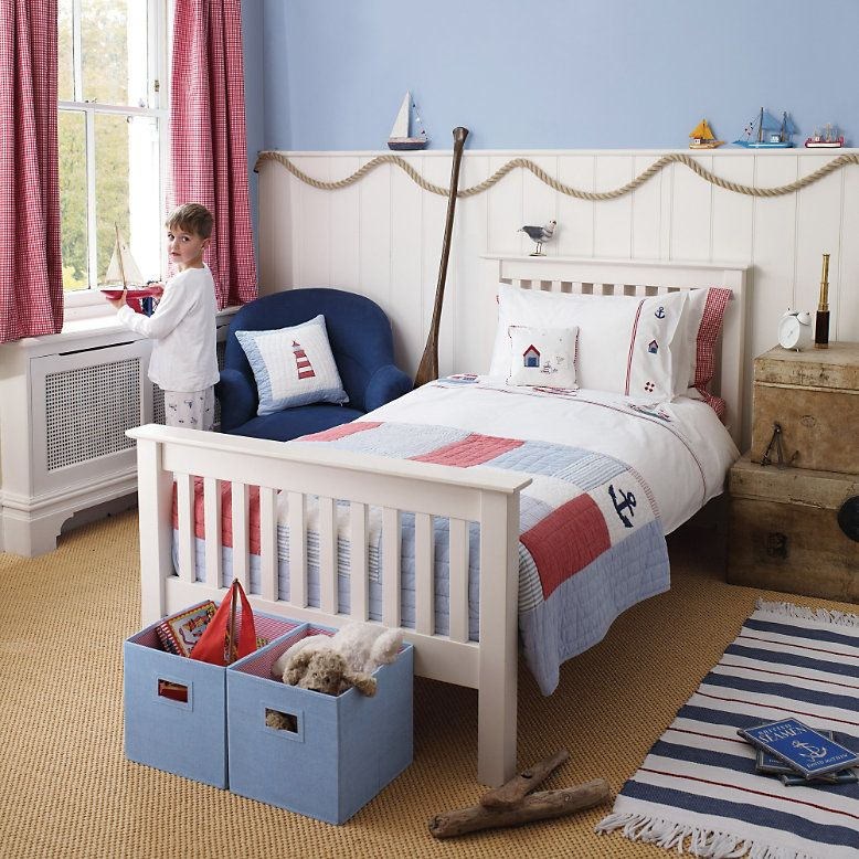 The White Company Nautical Bedroom Childrens Bedroom Furniture Childrens Bedrooms Boys Bedroom Decor