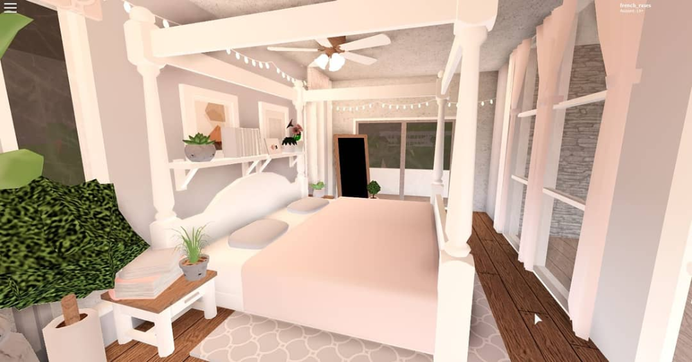 Pin By Andrea Lemus On Bloxburg Ideas In 2020 Aesthetic Bedroom House Blueprints Home Bedroom