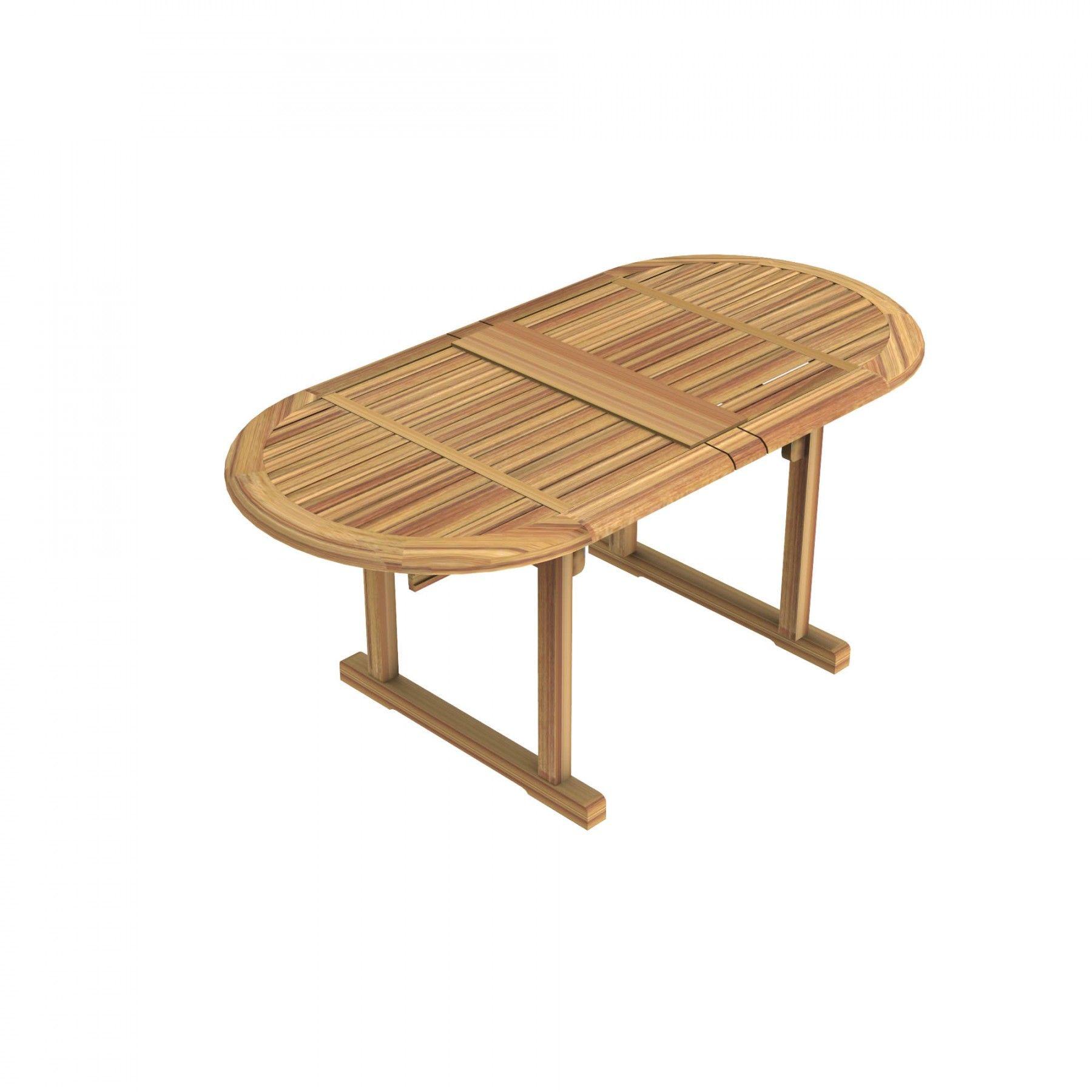 Table ovale de jardin Milton en Teck - Unopiù | Salle à manger ...