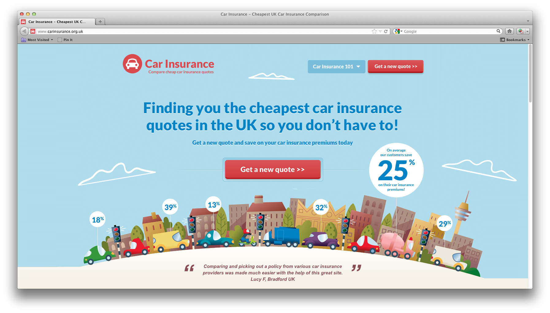 Nice - http://www.carinsurance.org.uk/ (With images ...