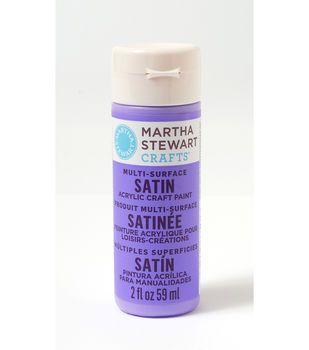 Martha Stewart Satin Craft Paint - Periwinkle