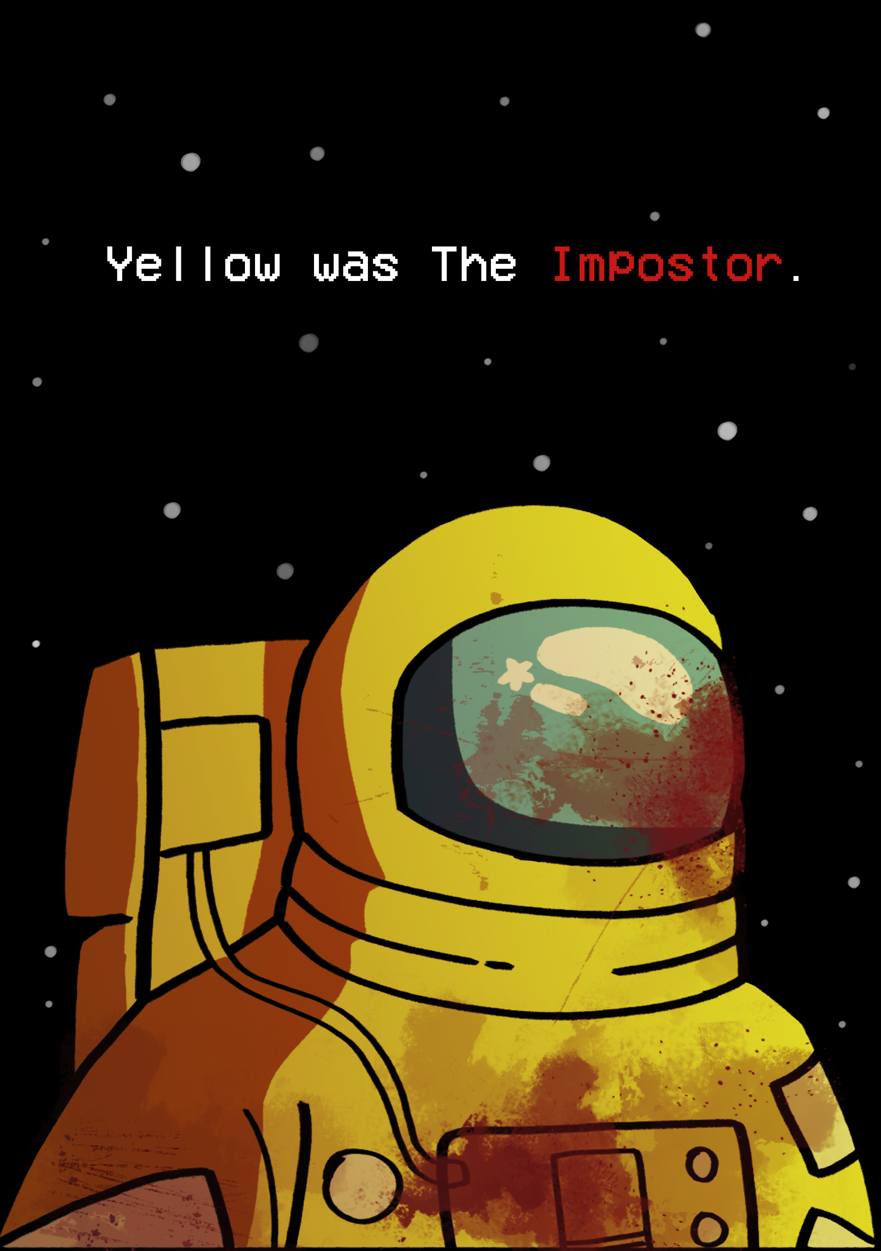 Yellow Was The Impostor Fan Art Poster Movie Posters