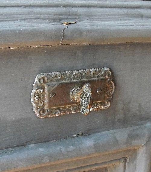 patina and hardware