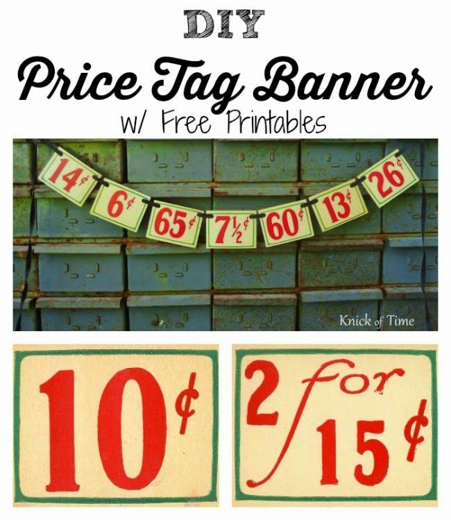 Antique Graphics Wednesday - Grocery Store Price Tags and Receipt - make a receipt free