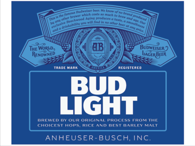New Look I Love The Crest Bud Light By Ian Brignell Dribbble Dribbble Com 400 300 Search By Image Bud Light Bud Light Bud Light Beer Bud Light Can