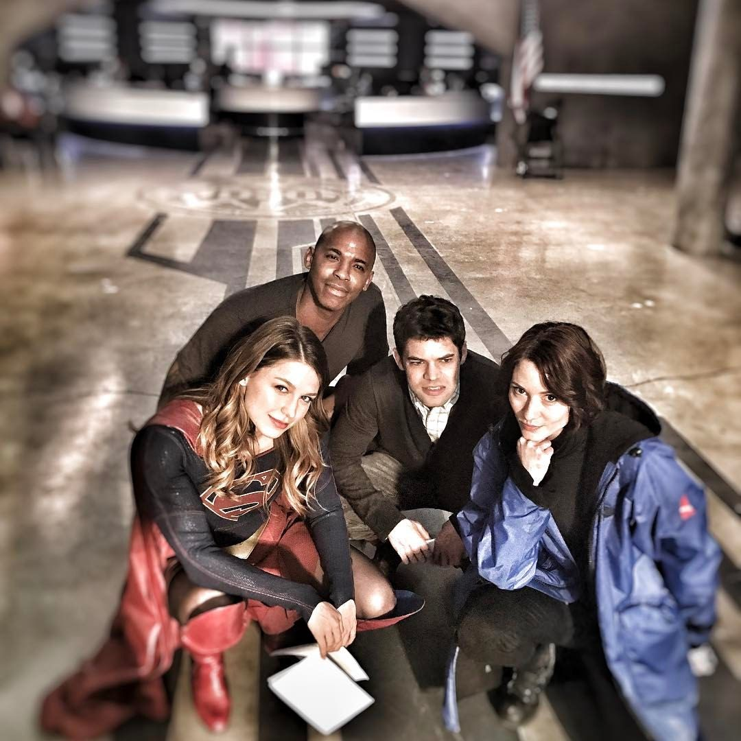 """Squad goals for sure! ❤ -- 5,873 Likes, 102 Comments - David  Harewood (@davidharewood) on Instagram: """"Squad. #cwsupergirl"""""""