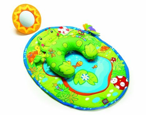 Tiny Love Tummy Time Fun Activity Mat Frog Toys Amp Games