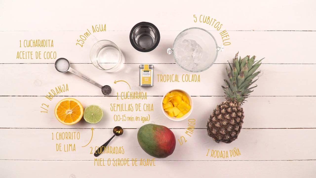 Smootea Tropical Colada - Tea Shop ®