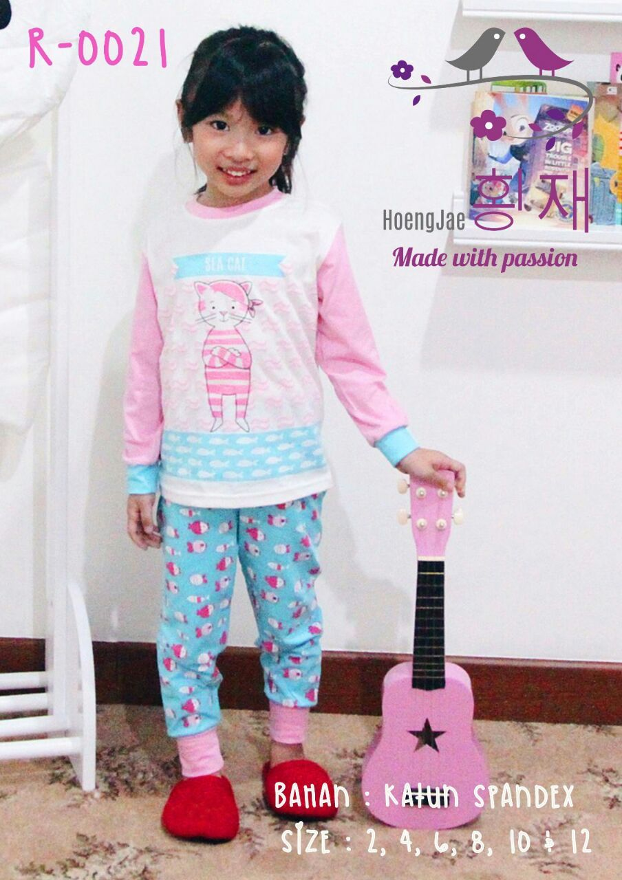 Baju Piyama Anak Perempuan