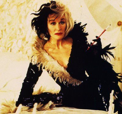 Fashion Inspiration Glenn Close As Cruella De Vil