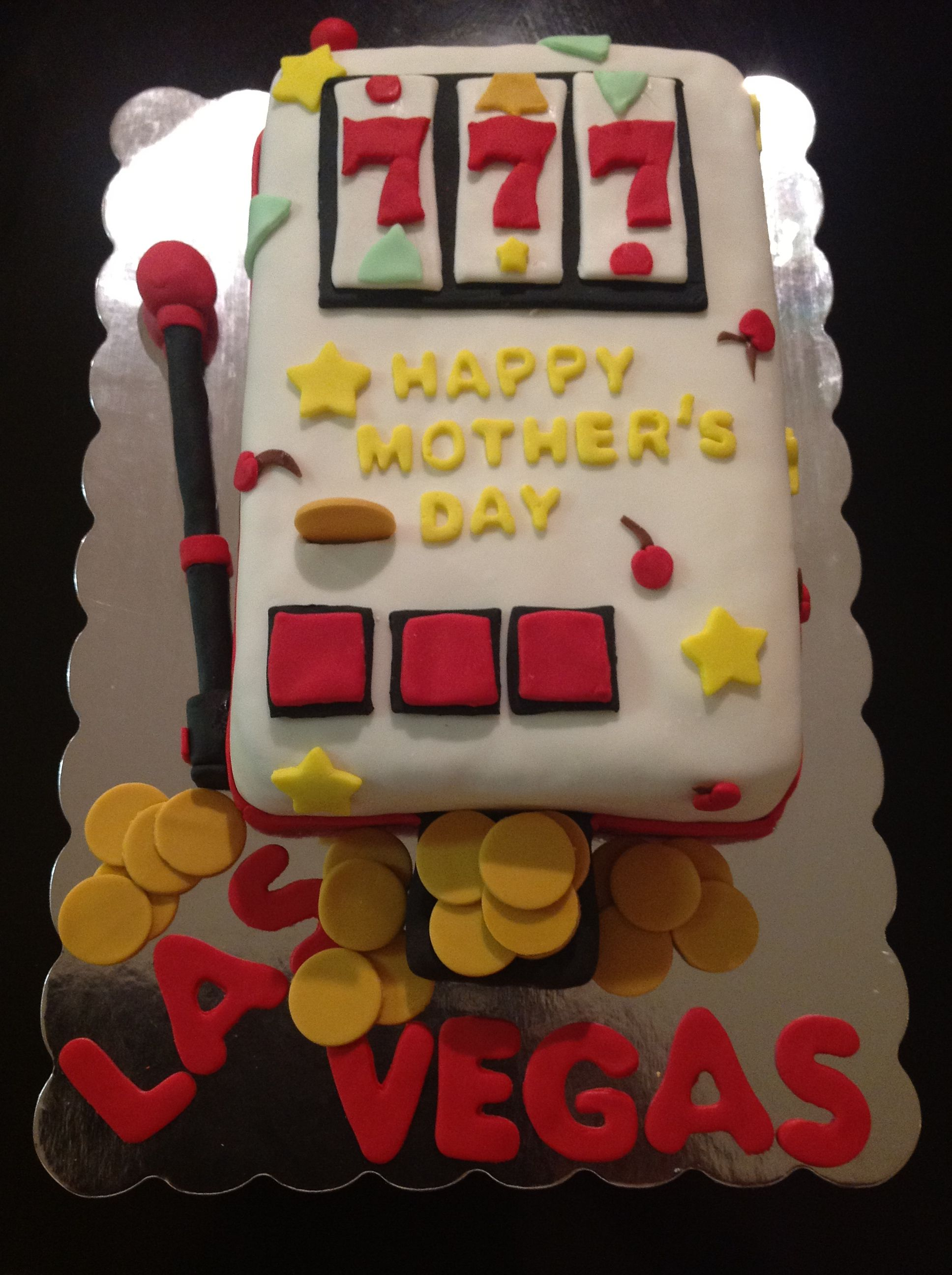 Slot Machine Cake Cakes Pinterest Slot Machine Cake Cake And