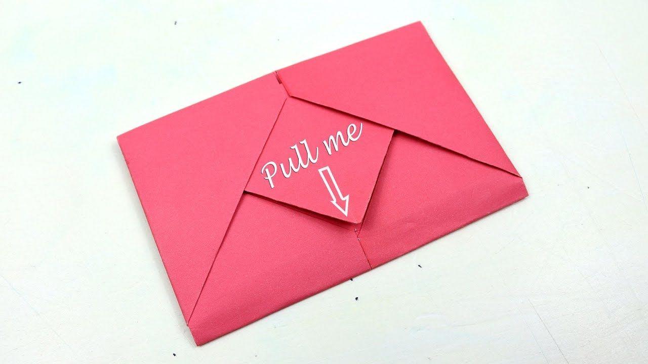 Origami en velope with paper in 2020 origami envelope